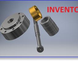 3D model Hidrolic System Inventor