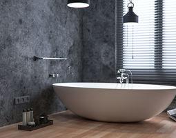 3D Bathroom style