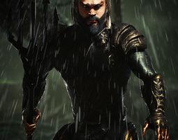 Justice League Aquaman Jason Momoa 3D model