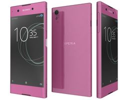 Sony Xperia XA1 Plus Pink 3D model
