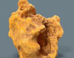 3D asset Orange Suiseki Rock
