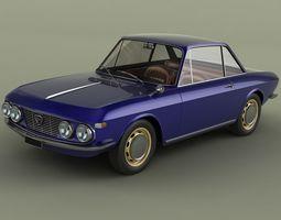 Lancia Fulvia Coupe 3D model