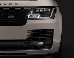 3D Range Rover Autobiography Hybrid L405 2018