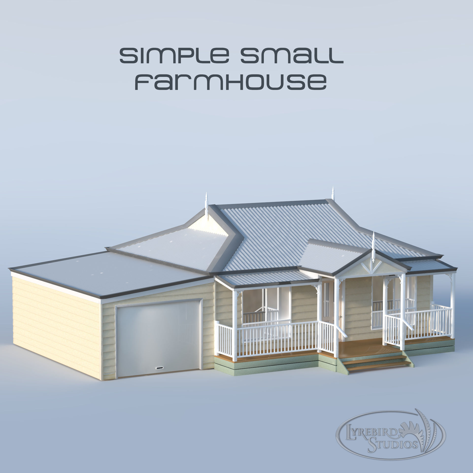 Small Weatherboard Farm House