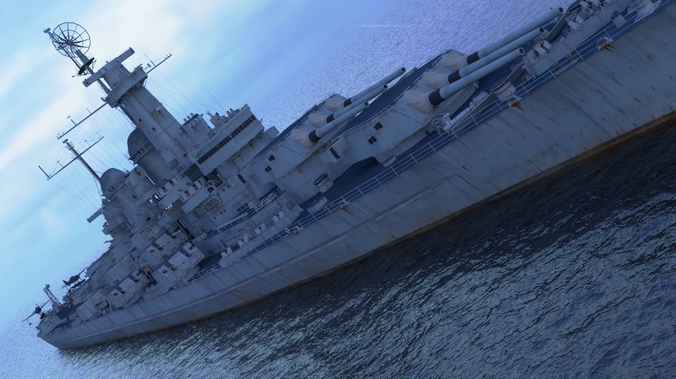 3d Asset Uss Montana Bb 67 With F4f Cgtrader