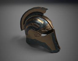 Fantasy Helmet 3D asset VR / AR ready