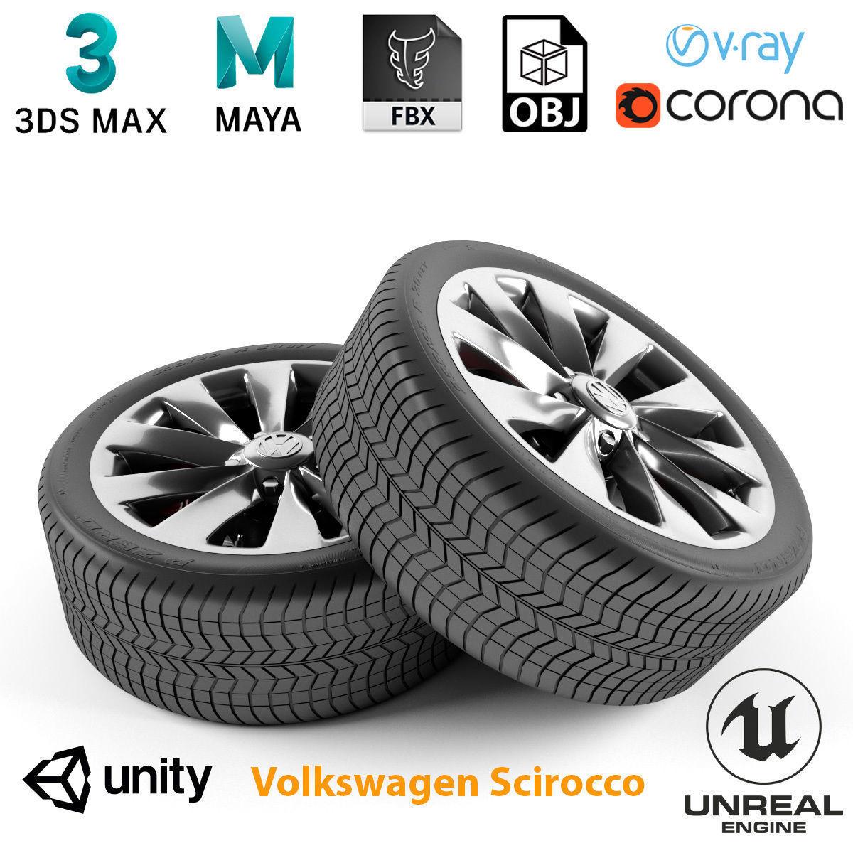 Volkswagen Scirocco Wheel