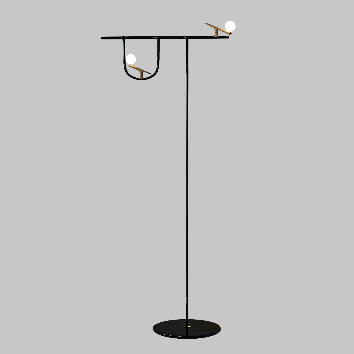 Floor Lamp Yanzi By Neri Hu Design And Research Office 3D Model