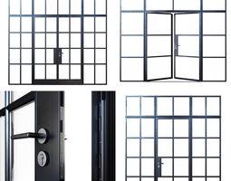 3D Steel doors