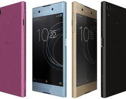 3D model Sony Xperia XA1 Plus All Colors