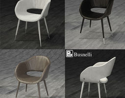 Busnelli Charme Plus 3D Model