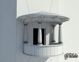 3D model Balcony 2 FREE