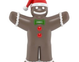 inflatable Gingerbread 3D