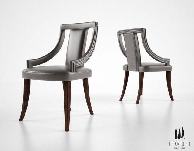 Brabbu Eanda Dining Chair 3d Model Max Obj Fbx
