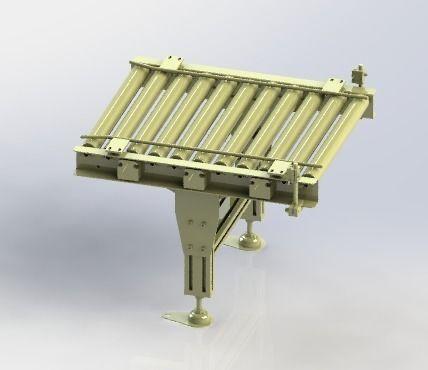 roller assembly line 3d model obj mtl 3ds stl sldprt sldasm slddrw ige igs iges stp 1