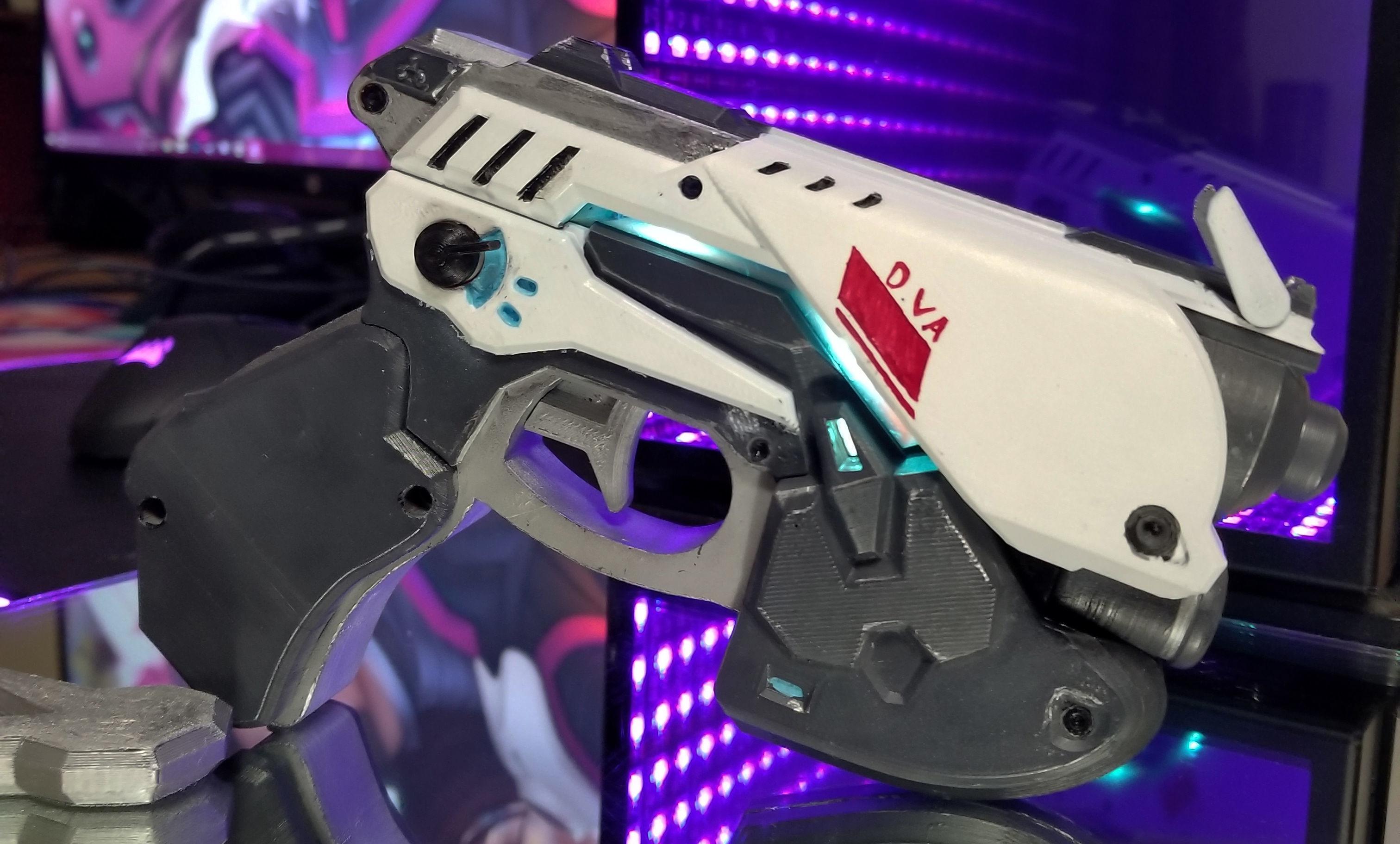 Dva LED Pistol Cosplay Prop