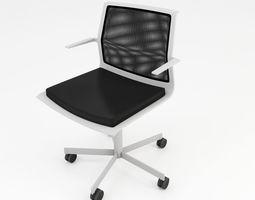 Mesh office chair 3D