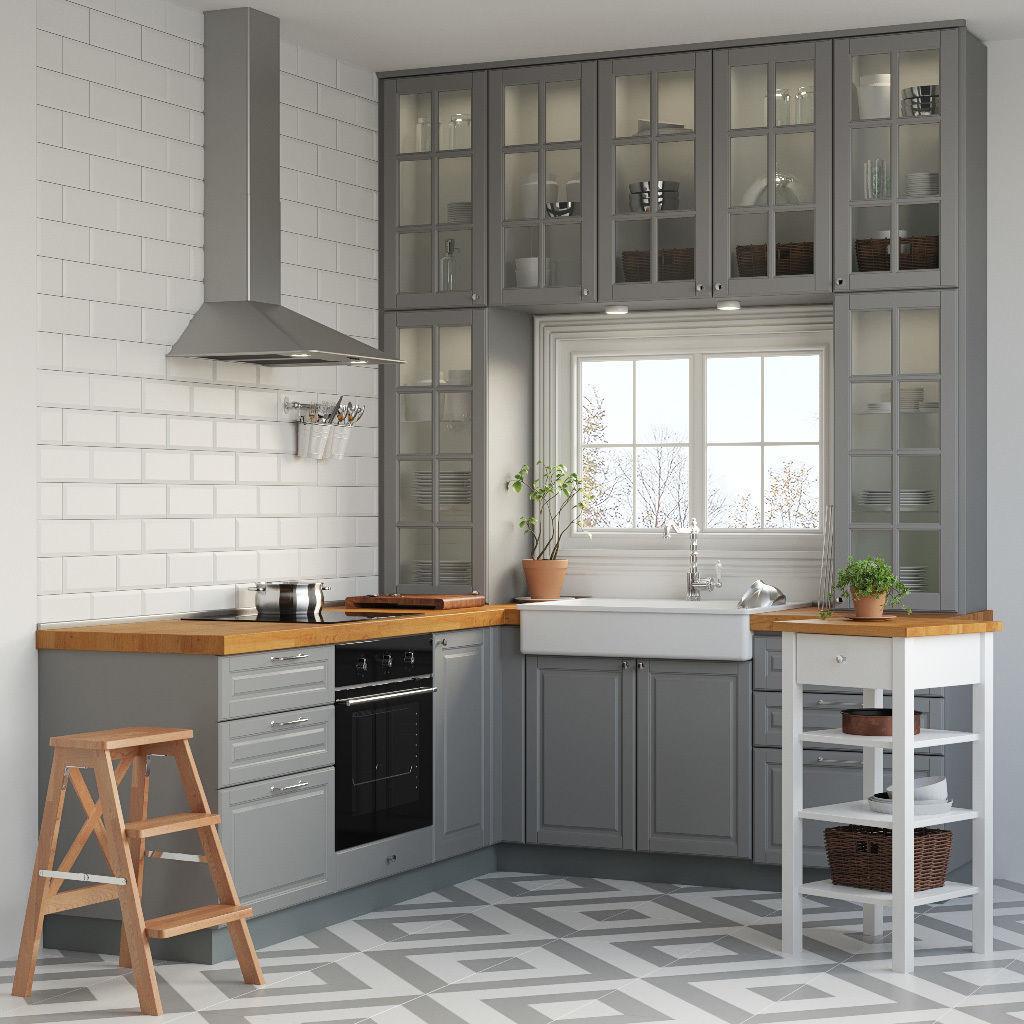 Kitchen IKEA METOD | 3D model
