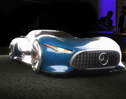 3D asset Mercedes-Benz AMG Vision Gran