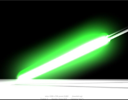 space 3D model Lightsaber