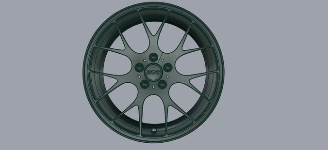 BBS Rim3D model