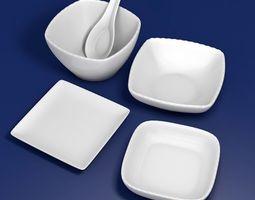 3D model Tableware kit