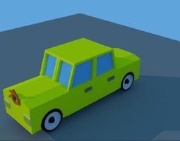 3D asset car blender
