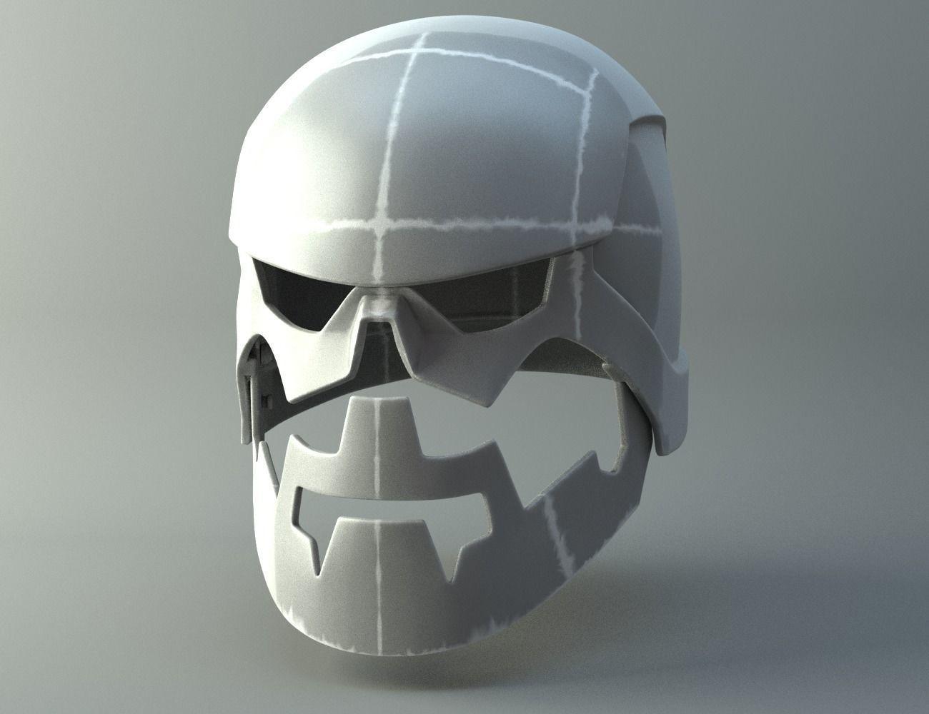 3d printable model monk helmet non dmg knights of 5