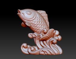 3D model fish for free
