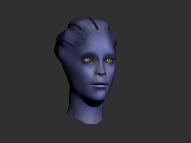 Liara Head3D model