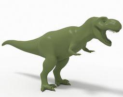 3D model Trex dinosaur