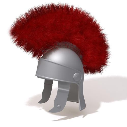 roman helmet cartoon 3d model max obj mtl fbx ma mb 1
