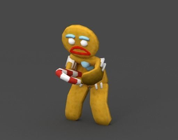Cookie 3D asset
