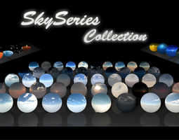 3D model Sky Series Collection - HDRi Atmospheres