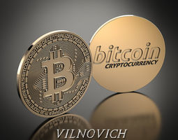 bitcoin 2 3D printable model