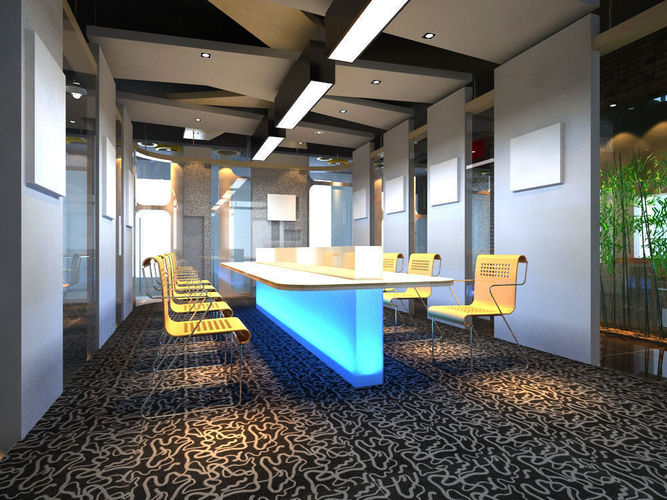 conference 3d model max 1