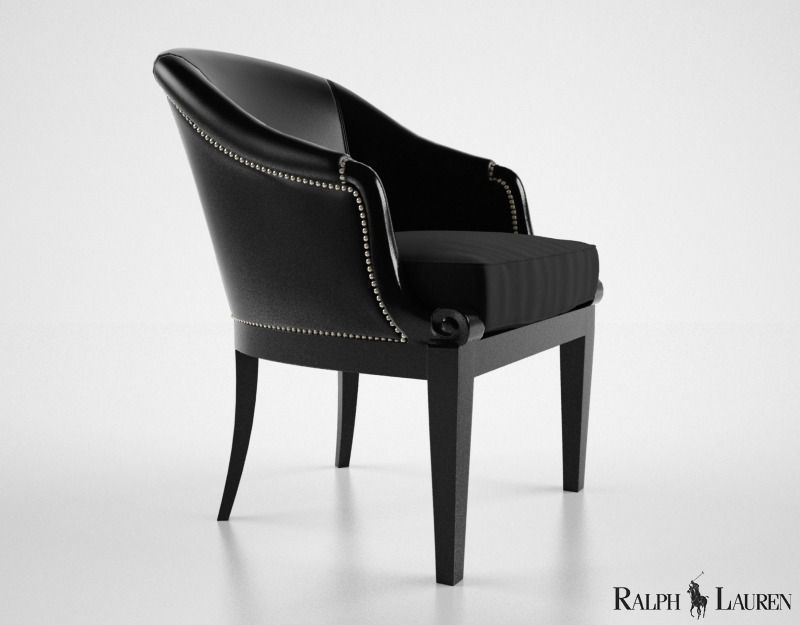 3d Model Ralph Lauren Duchess Dining Chair Cgtrader