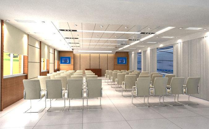 Conference 0133D model