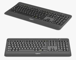 3D model Logitech Wireless Keyboard K800