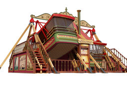 Carters Steam Fair 3D model