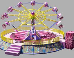 Carnival ride 3D model