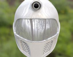 Robotic Space Helmet 3D