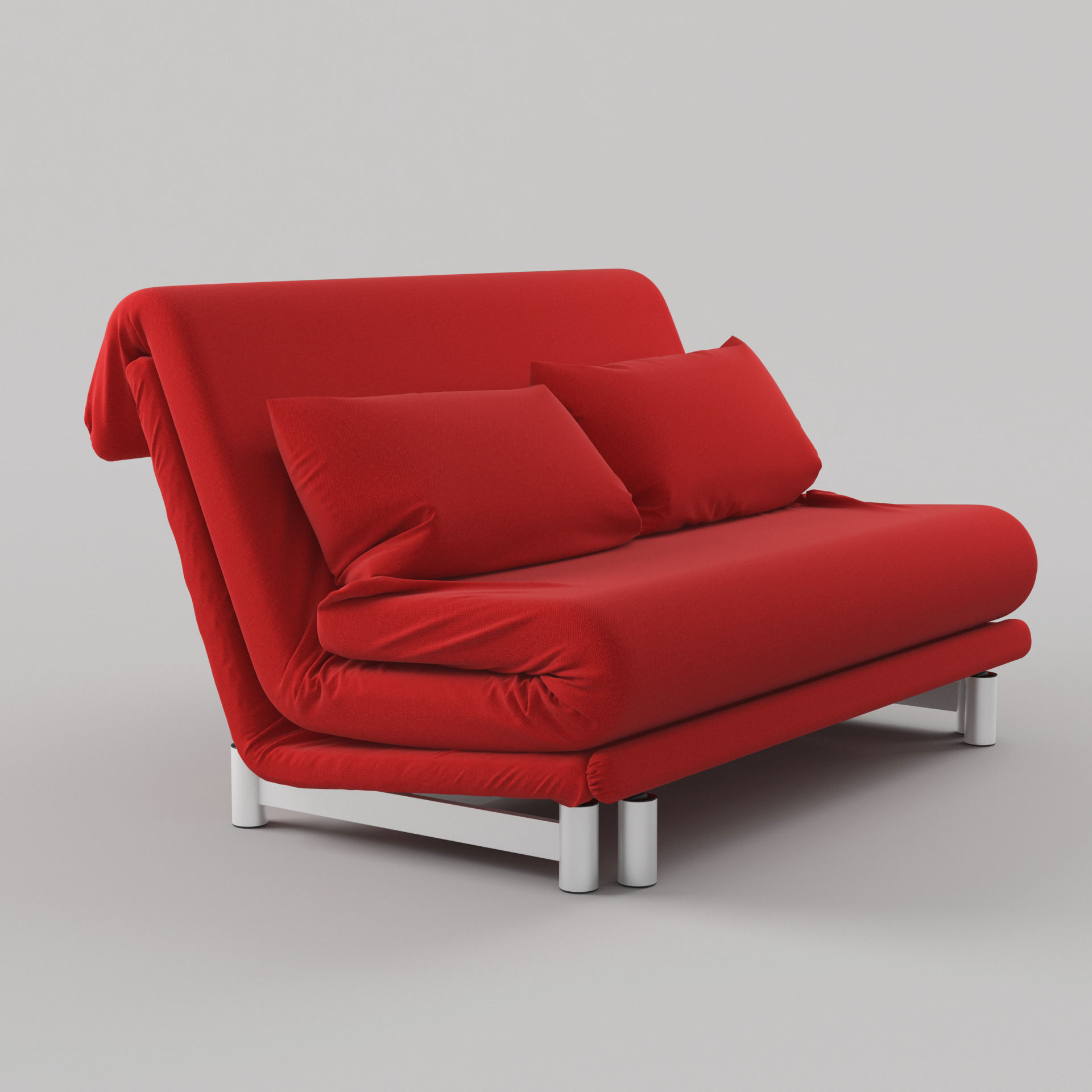 Modern sofa bed by ligne roset 3d model max obj mtl fbx unitypackage prefab 3