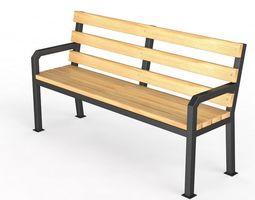 Bench - 06 3D model