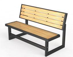 3D Bench - 08