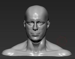 Bruce Willis 3D Model