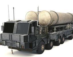 Missile Launcher 3D