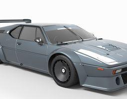 realtime M1 3D model