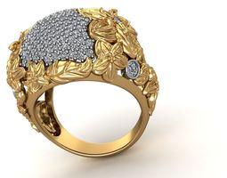 3D print model Floral Design