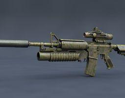 3D model Colt M4A1